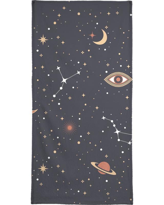 , Mystical Galaxy -Handtuch
