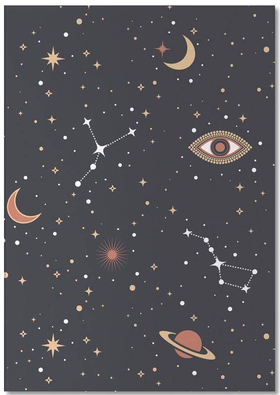 Mystical Galaxy -Notizblock
