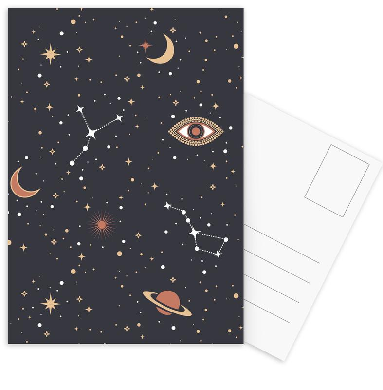 Mystical Galaxy Postcard Set