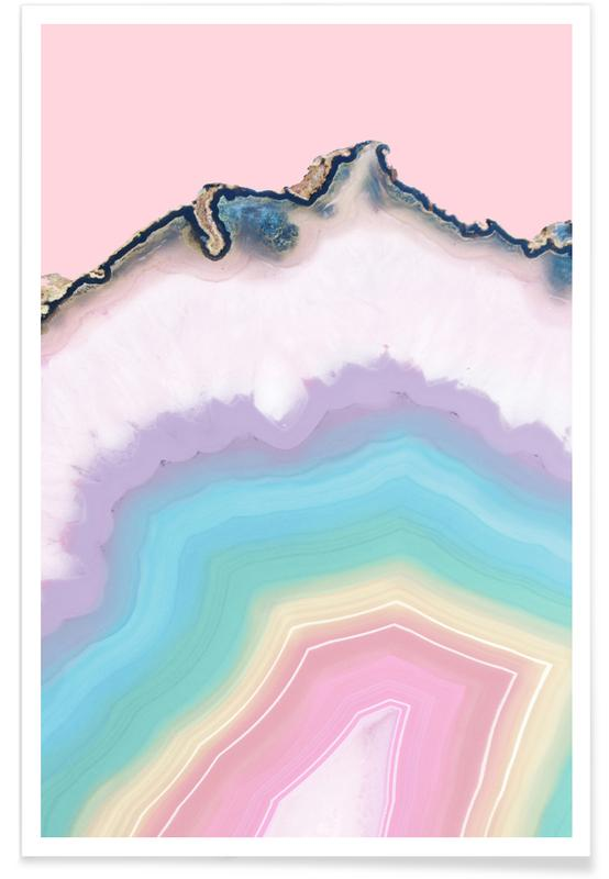 Rainbow Agate poster