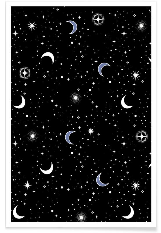 Mond, Stars Holiday -Poster