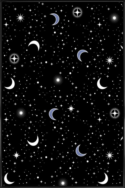 Stars Holiday ingelijste poster