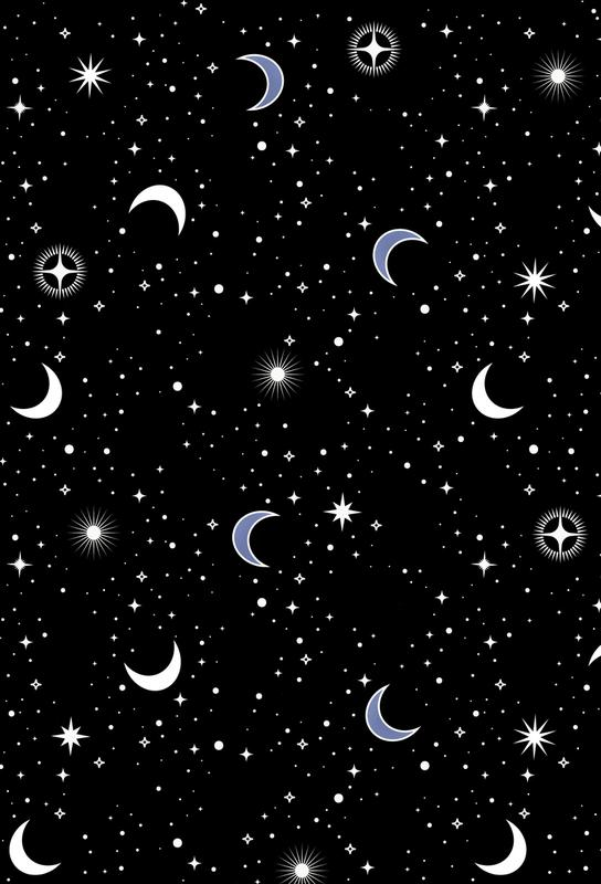 Stars Holiday Impression sur alu-Dibond