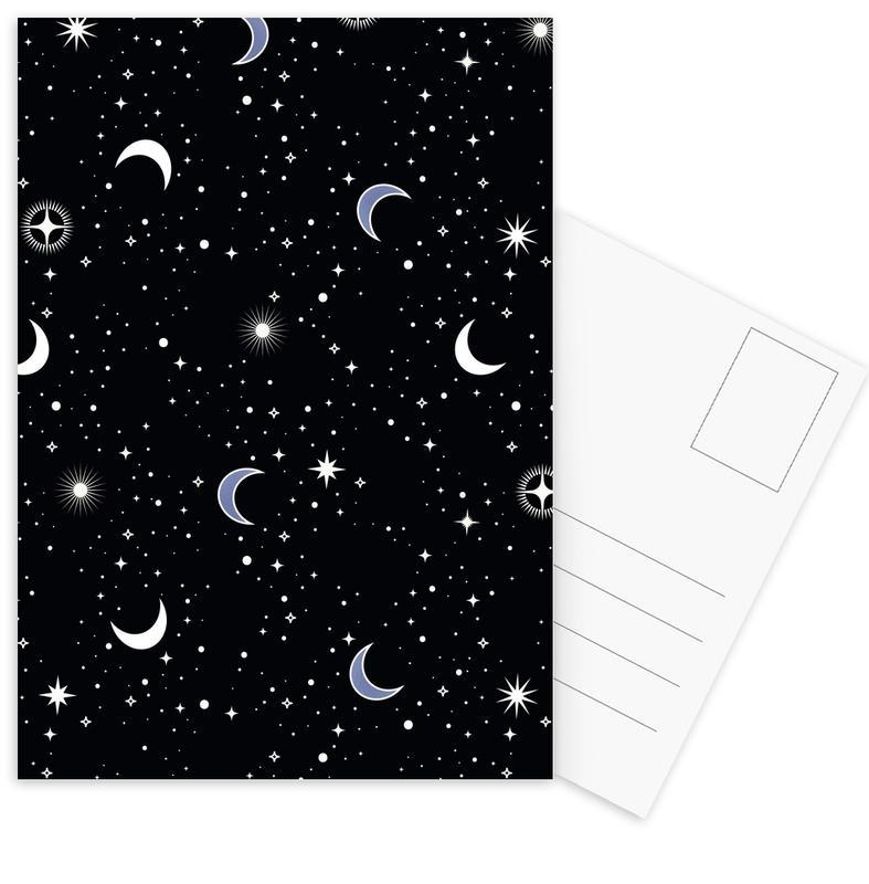 Stars Holiday Postcard Set