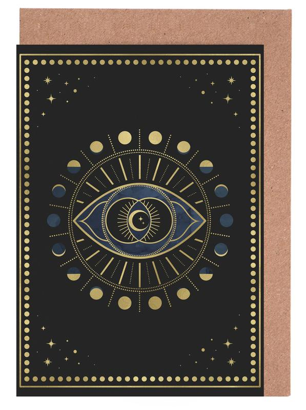 Vi Chakra Greeting Card Set