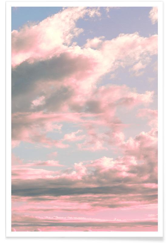 Abstracte landschappen, Delicate Sky poster