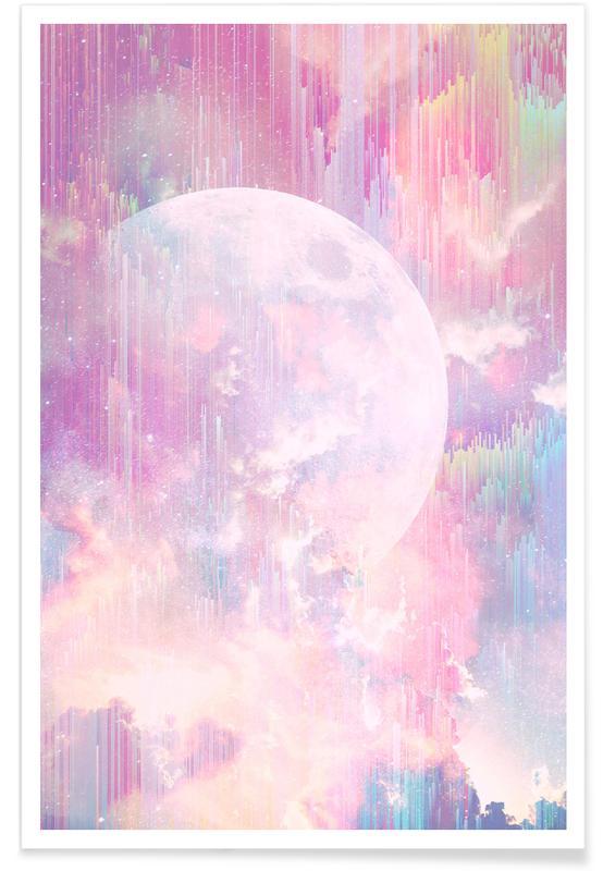 Maan, Dromerig, Vanishing Moon poster