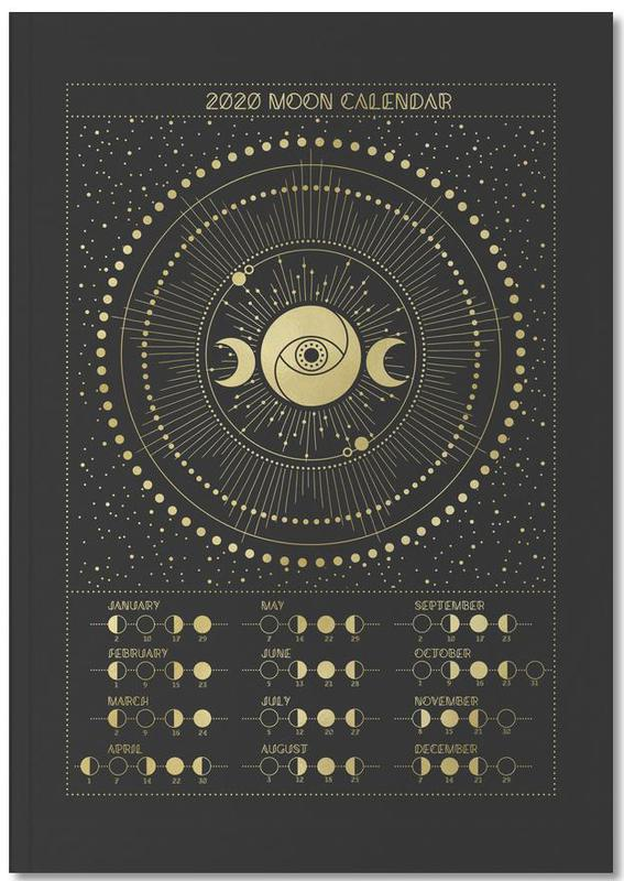 Moon Calendar 2020 Notebook