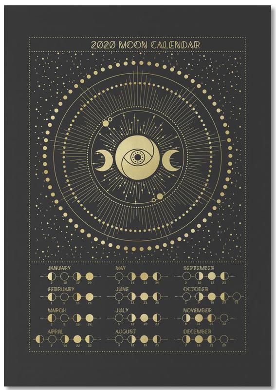 Moon Calendar 2020 -Notizblock