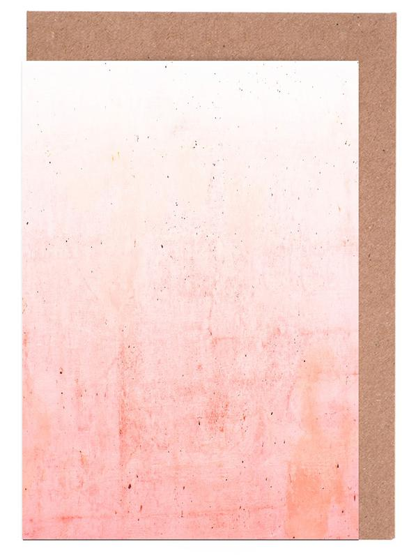 Pink Ombre Greeting Card Set