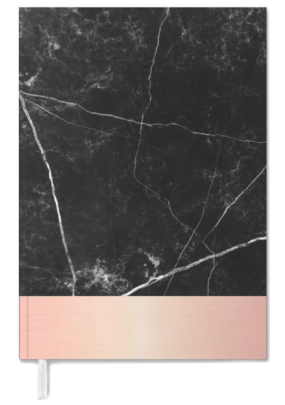 Black Marble Pink Edition -Terminplaner