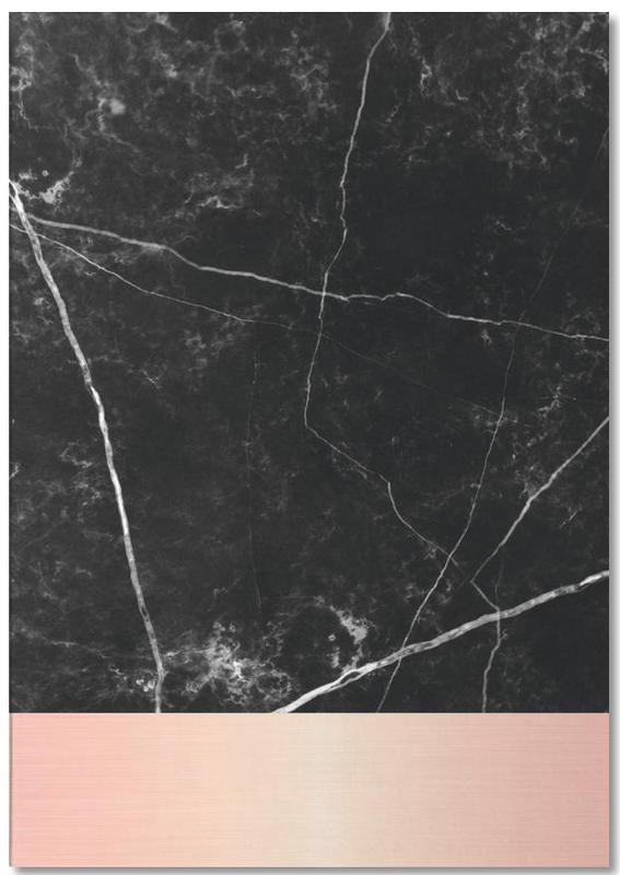 Black Marble Pink Edition -Notizblock
