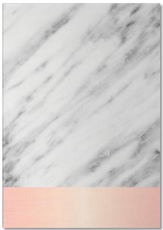 Carrara Marble Pink Edition -Notizblock