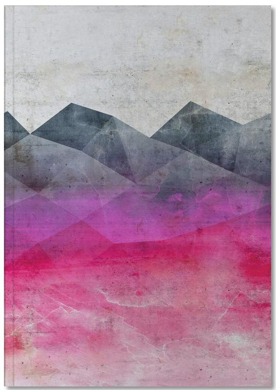 Pink Concrete Notebook