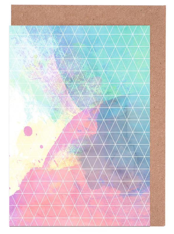 Geometric Shadows -Grußkarten-Set