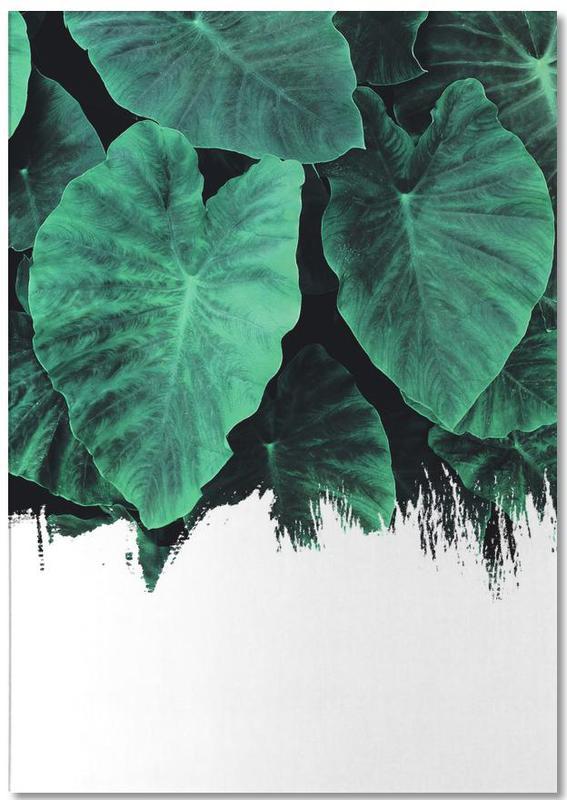Bladeren en planten, Jungle notitieblok