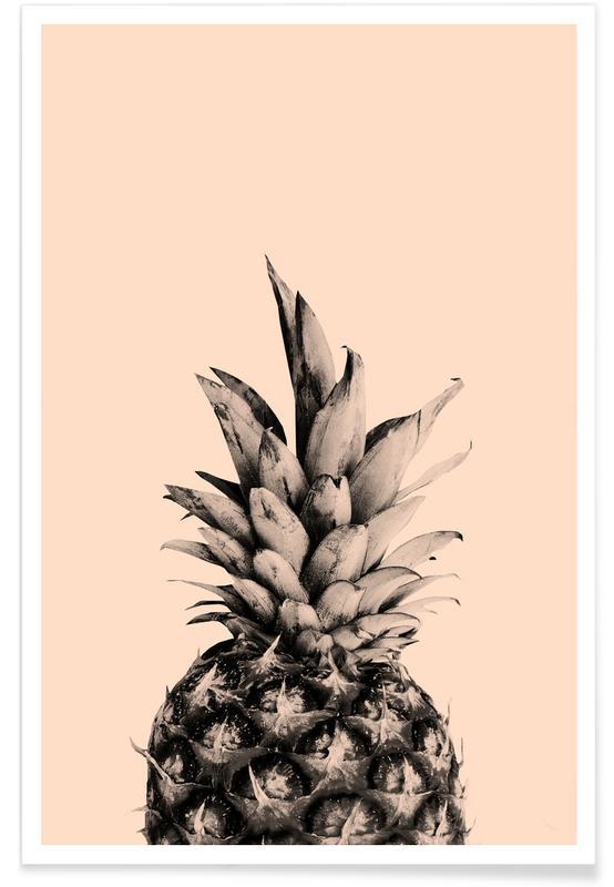 Ananassen, Pink Pineapple poster