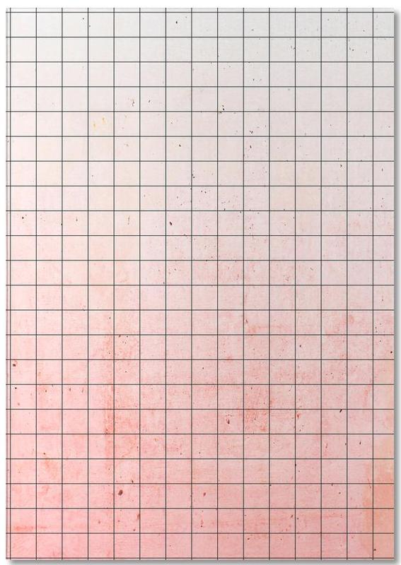 Sweet Pink Geometry -Notizblock