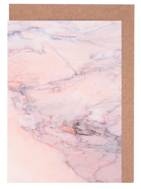 Blush Marble cartes de vœux