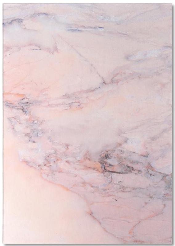 , Blush Marble -Notizblock
