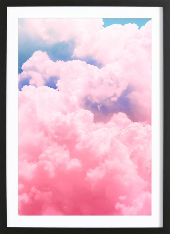 Candy Sky ingelijste print