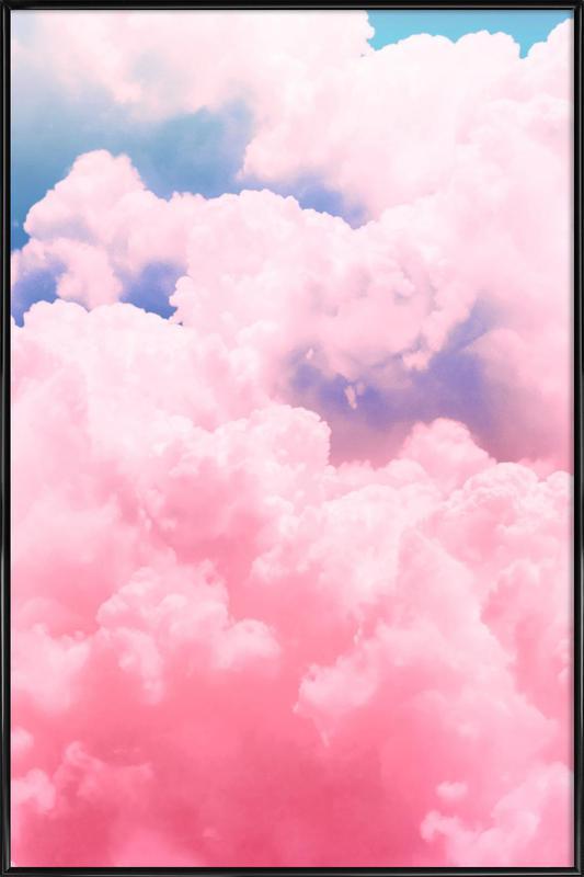 Candy Sky affiche encadrée