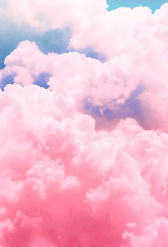 Candy Sky tableau en verre