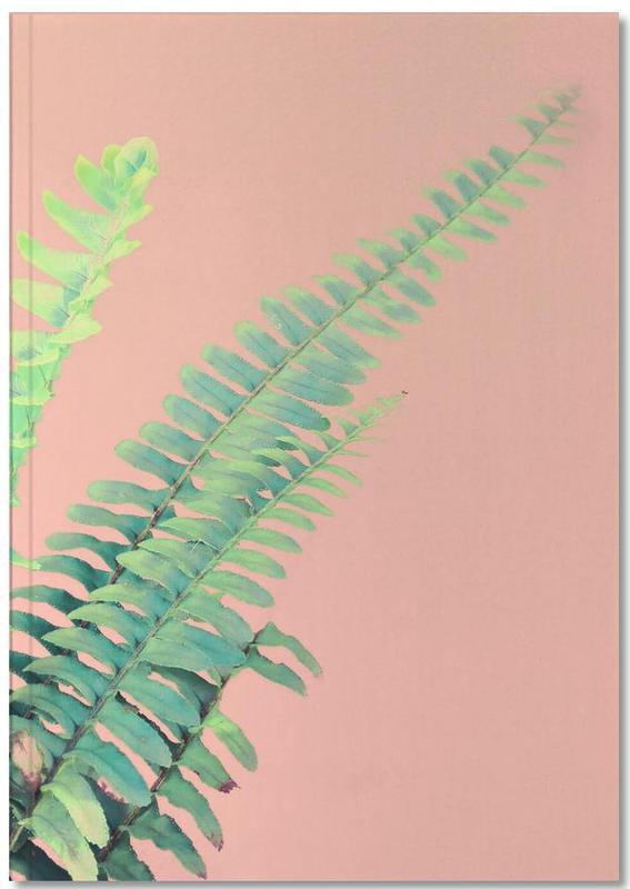 Ferns on Blush Prints Notebook