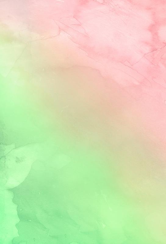 Greenely and Rose Quartz Prints acrylglas print