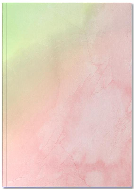 Greenely and Rose Quartz Prints Notebook