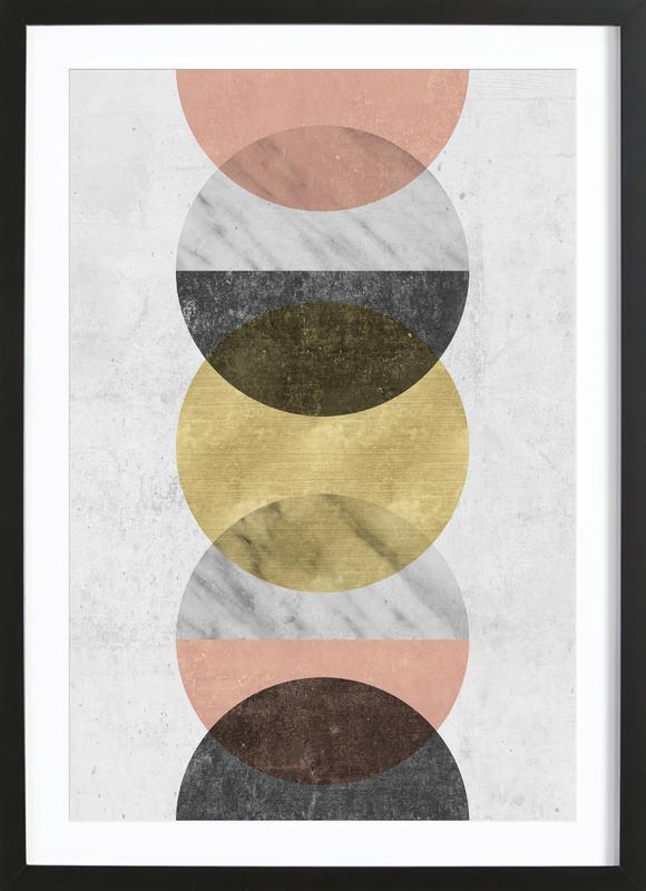 Moonlight ingelijste print