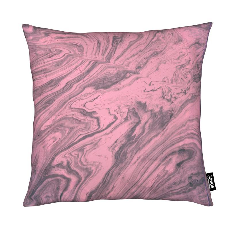 Pink Marbled Texture coussin