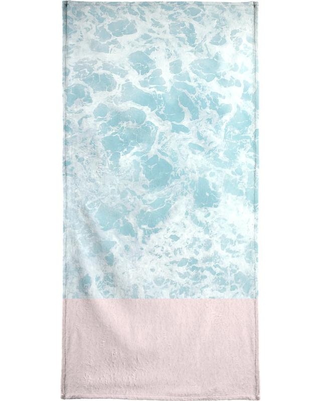 Pink on the Sea serviette de bain