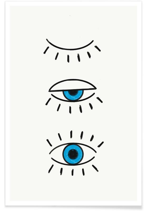 Summer Evil Eye poster