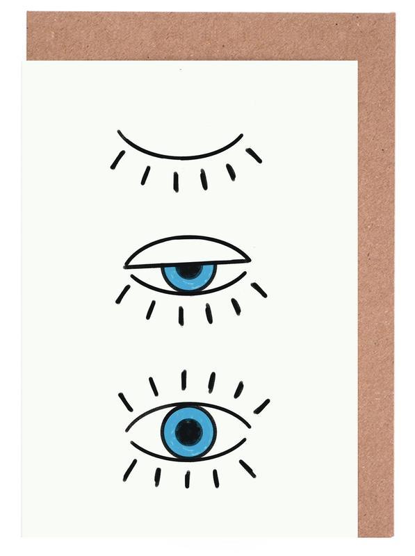 Summer Evil Eye Greeting Card Set
