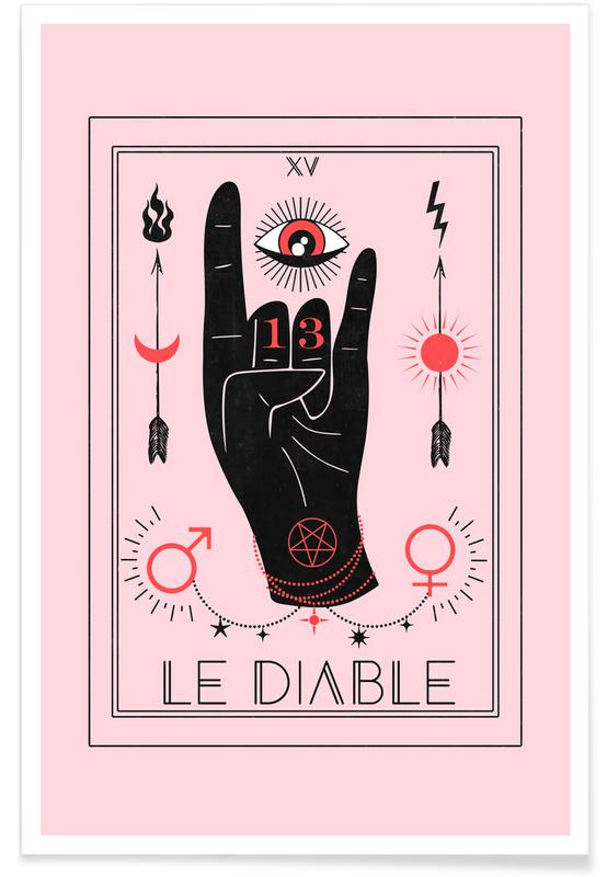 Symbolen, The Devil poster