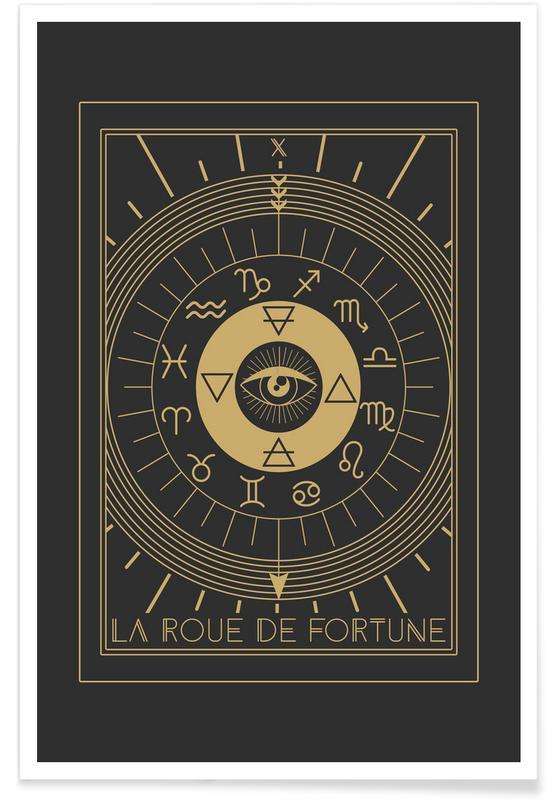 Symbole, The Wheel of Fortune -Poster
