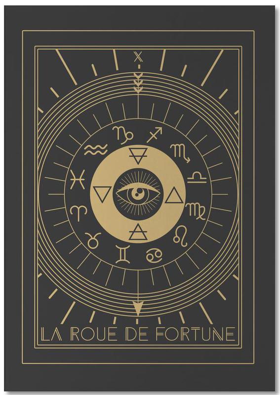 The Wheel of Fortune -Notizblock