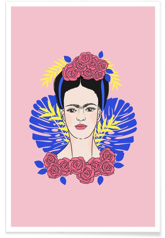Frida Kahlo, Tribute to Frida Poster