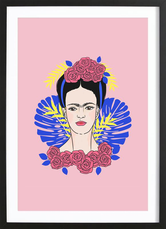 Tribute to Frida ingelijste print