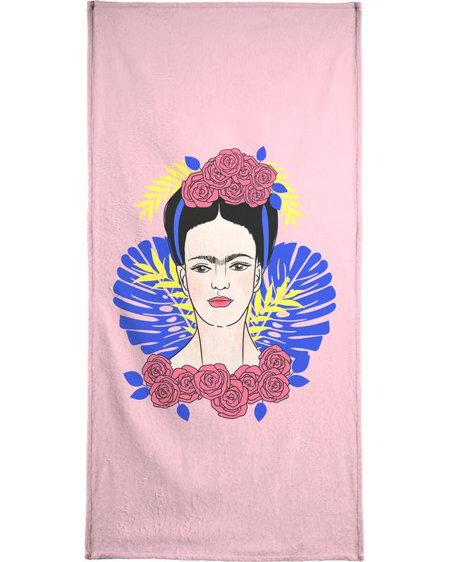 Tribute to Frida Bath Towel