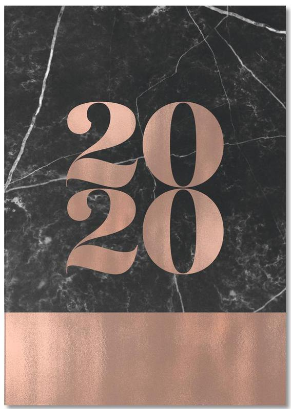 2020 Black Marble Edition -Notizblock