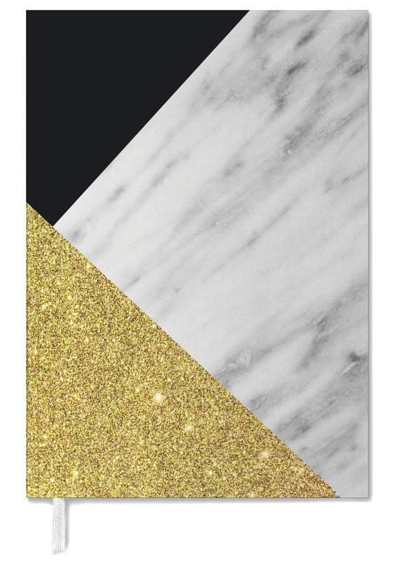 Gold Marble Collage agenda