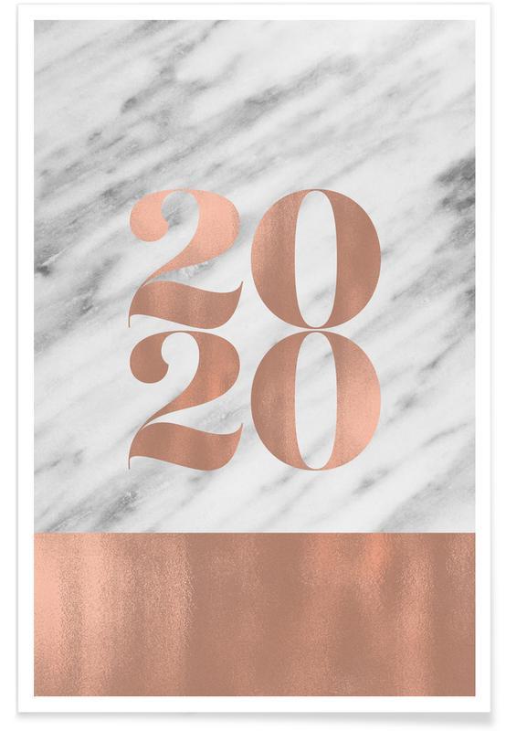 Numre, 2020 Marble Edition Plakat