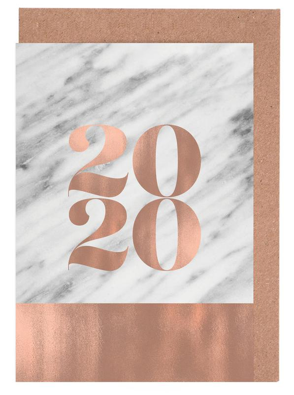 2020 Marble Edition Greeting Card Set