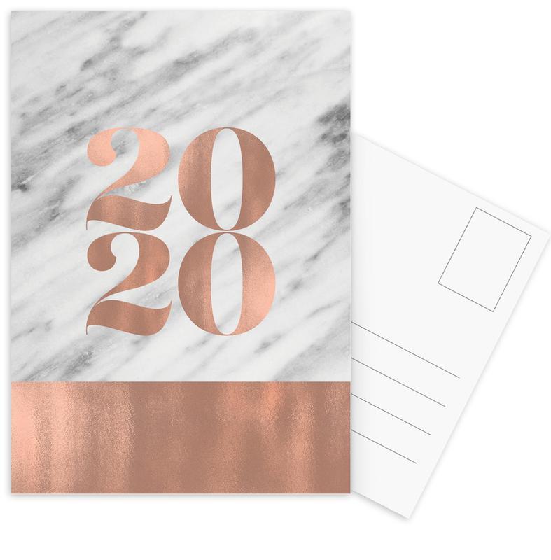2020 Marble Edition Postcard Set