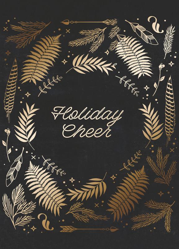 Holiday Cheer toile