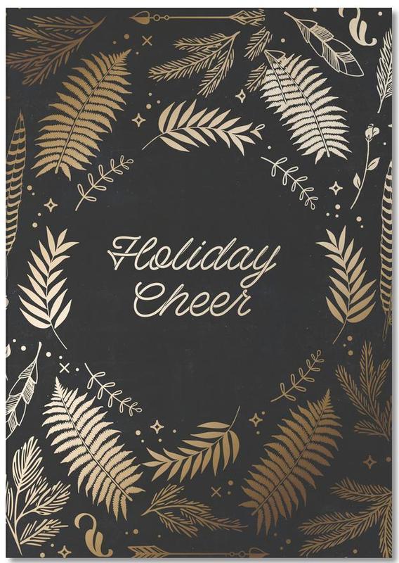 Kerst, Holiday Cheer notitieblok