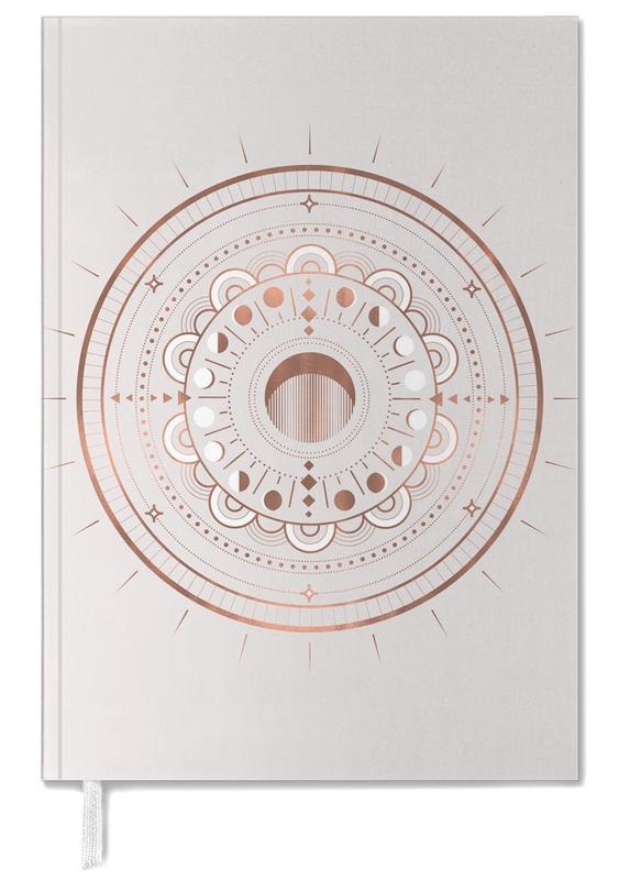 Moon Mandala Rosé -Terminplaner
