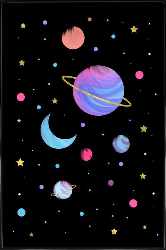 Great Universe ingelijste poster